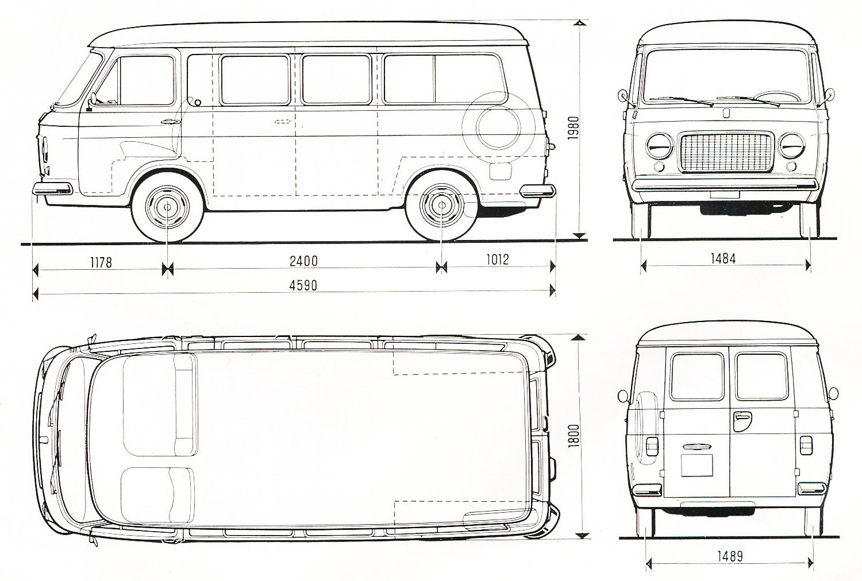 fiat 238 1982 blueprint