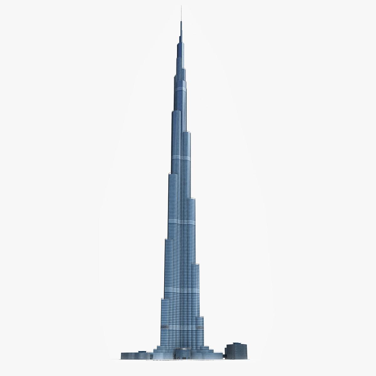 Vintage Step Van >> Burj Khalifa Blueprint - Download free blueprint for 3D modeling